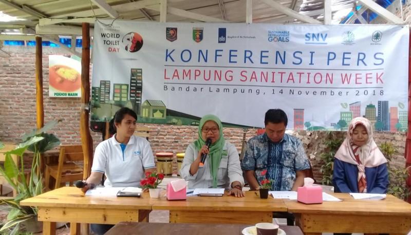 Lampung Sanitation Week Wujudkan Keterikatan Rantai Sanitasi