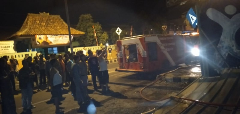 Lampung Selatan Akrab dengan Kejadian Kebakaran