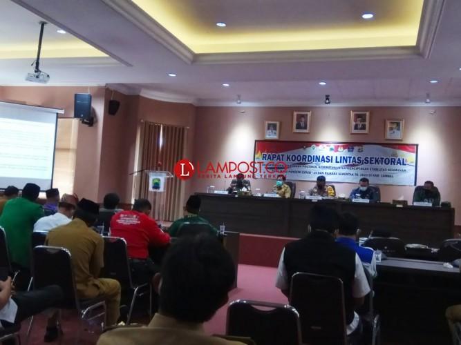 Lampung Selatan Masuk Zona Oranye Covid-19