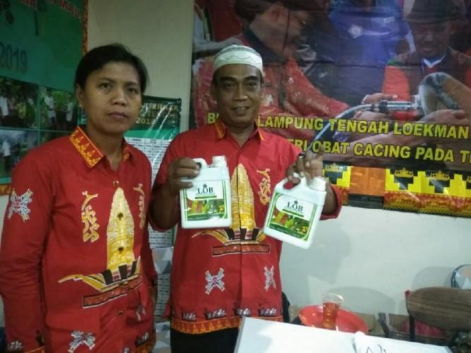 Lampung Tengah Pamerkan Produk PupukOrganik Cair