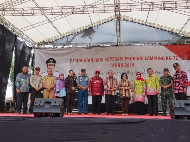 Lampung Tengah Tuan Rumah Hari Koperasi Ke-72