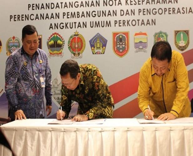 Lampung Terapkan Penggunaan Angkutan Skema <i>Buy the Service</i>
