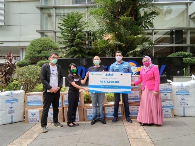 Lampung Terima Ribuan APD dari Media Group dan Blibli.com