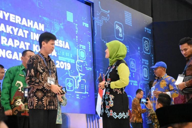 Lampung Timur Raih Penghargaan Pasar Revitalisasi Terbaik 2018
