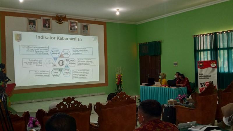 Lampung Usulkan Tiga Penerapan Pendidikan Anti Korupsi ke KPK
