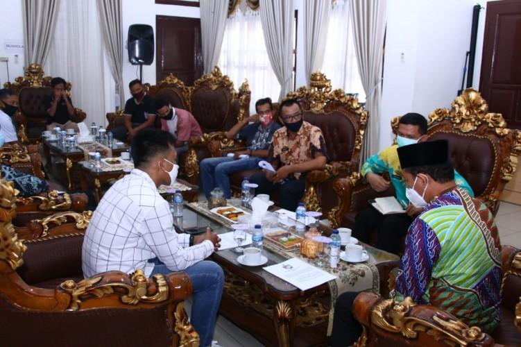 Lampung Utara Bentuk Sekolah Sepak Bola