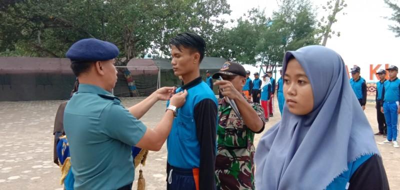 Lanal Lampung dan Disdikbud Kerjasama Bina Bela Negara