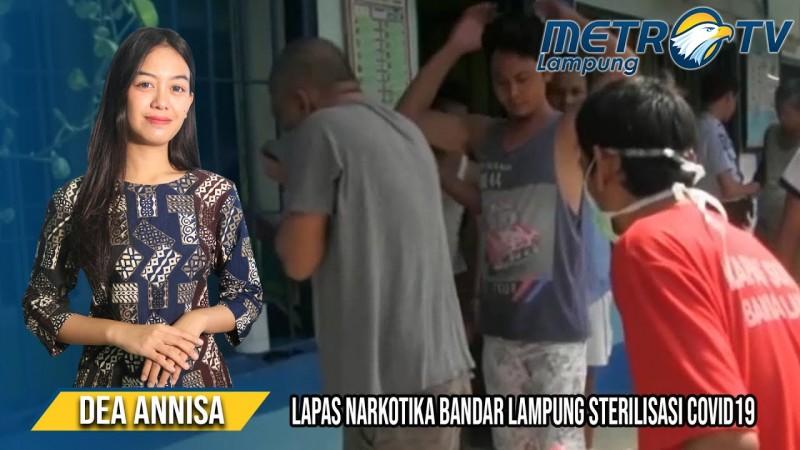 Lapas Narkotika Bandar Lampung Lakukan Sterilisasi Covid-19