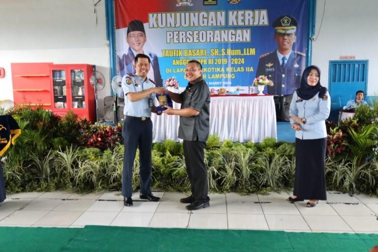 Lapas Narkotika Kelas II A Bandar Lampung Krisis Air
