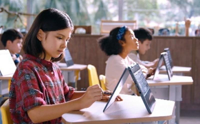 Laptop ASUS BR1100 Pangkas Hambatan Belajar Daring