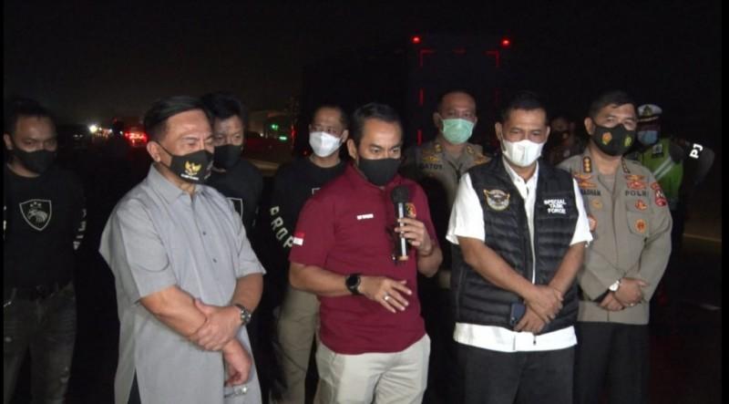 Laskar FPI yang Kabur saat Insiden Penembakan Diduga Empat Orang