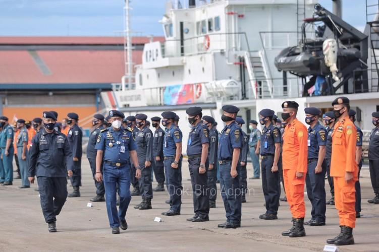 Latihan Gabungan Nasional Marpolex 2020 Guna Lindungi Maritim Lampung