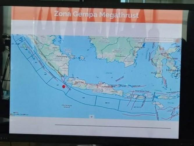 Laut Selatan Sumatra-Jawa Rentan Gempa