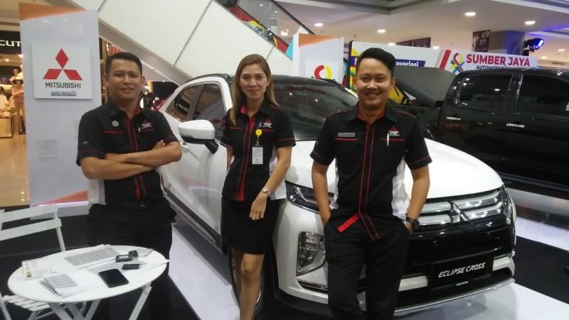 Lautan Berlian Pamerkan Mitsubishi Eclipse Cross di Autofest 2019
