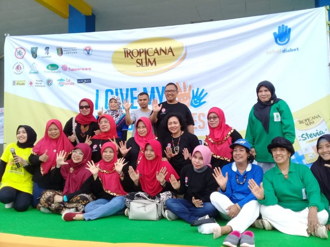 Lawan Diabetes Bersama Germas