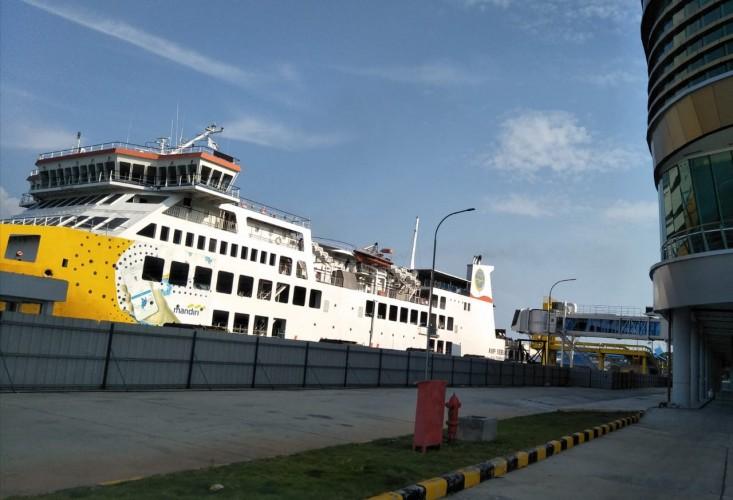 Layanan Penyeberangan Pelabuhan Bakauheni Normal
