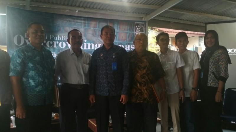 LBH Bandar Lampung Diskusisoal Kelebihan Kapasitas LP dan Rutan