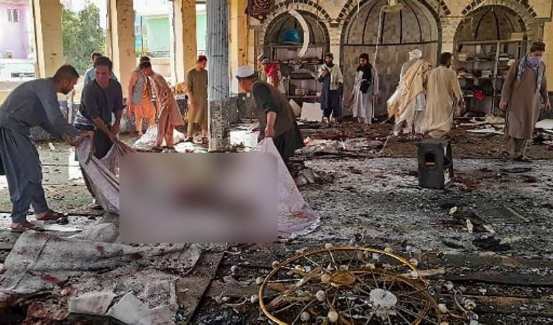 Lebih dari 100 Orang Tewas dan Terluka dalam Ledakan Masjid Afghanistan