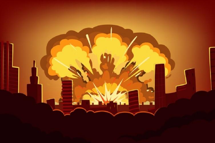 Ledakan di Los Angeles Lukai 10 Petugas Pemadam