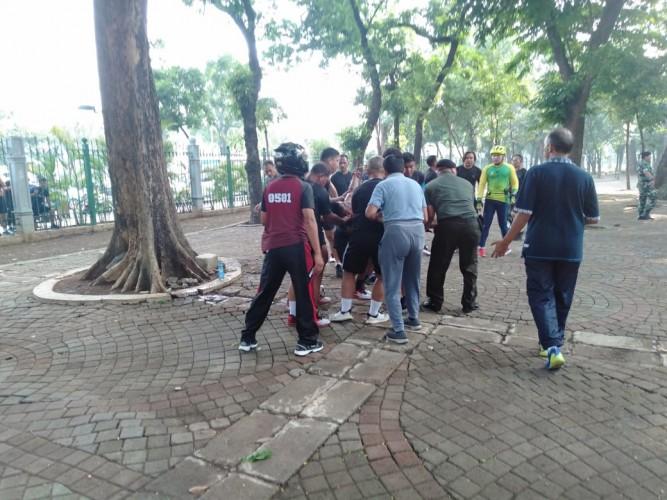 Ledakan di Monas Lukai Dua Anggota TNI