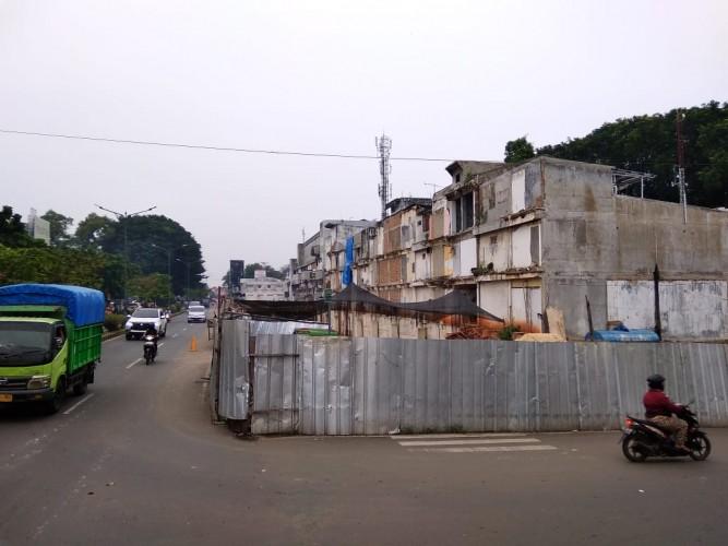 Legislator Desak Pembangunan Ruko Jenderal Sudirman Dipercepat