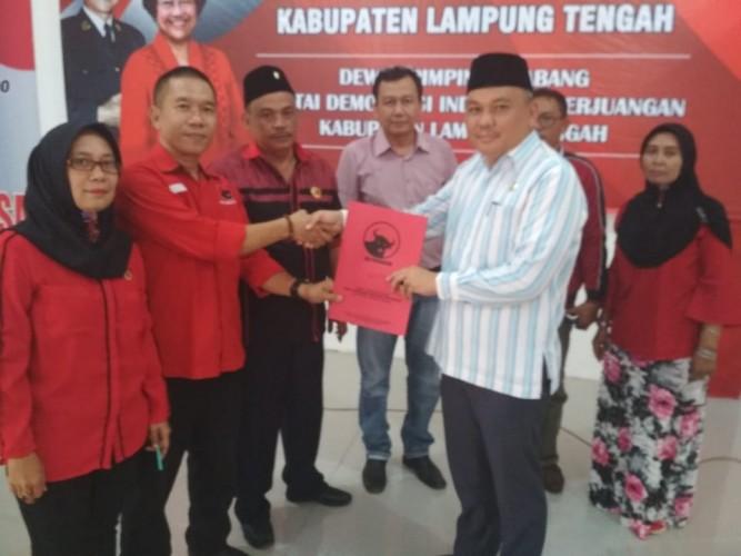 Legislator PKS Daftar Penjaringan PDIP di Pilkada Lamteng