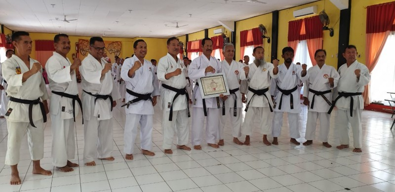 Lemkari Lampung Gelar Gashuku, Ujian Dan, dan Ujian Kyu