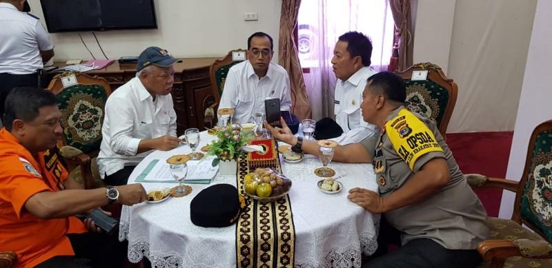 Liburan Nataru, Menhub dan Gubernur Tinjau Tol Lampung