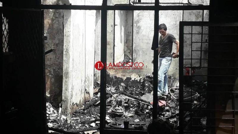 Lilin SembahyangDiduga Jadi Pemicu Kebakaran di Sukaraja