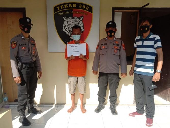 Lima Tahun Buron, Pencuri Sapi Ditangkap