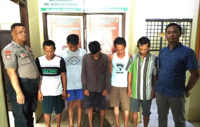 Lima Warga Menggala Selatan Digerebek saat Berjudi