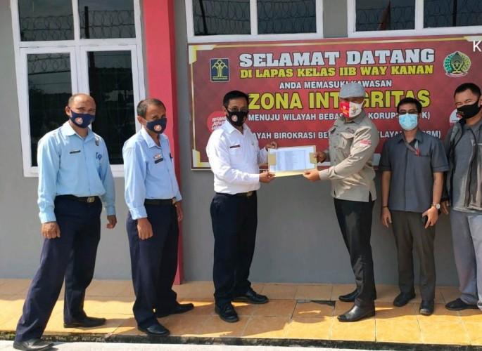 Lindungi Hak Pilih, KPU Way Kanan Sambangi Lembaga Pemasyarakatan Way Kanan