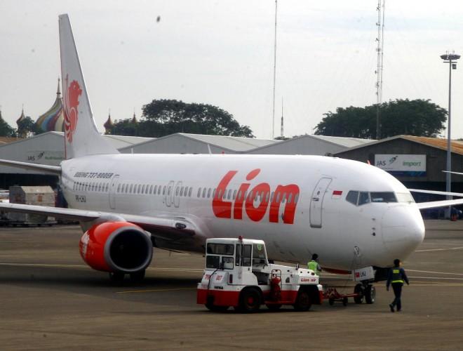 Lion Air Sterilkan Pesawat Cegah Korona