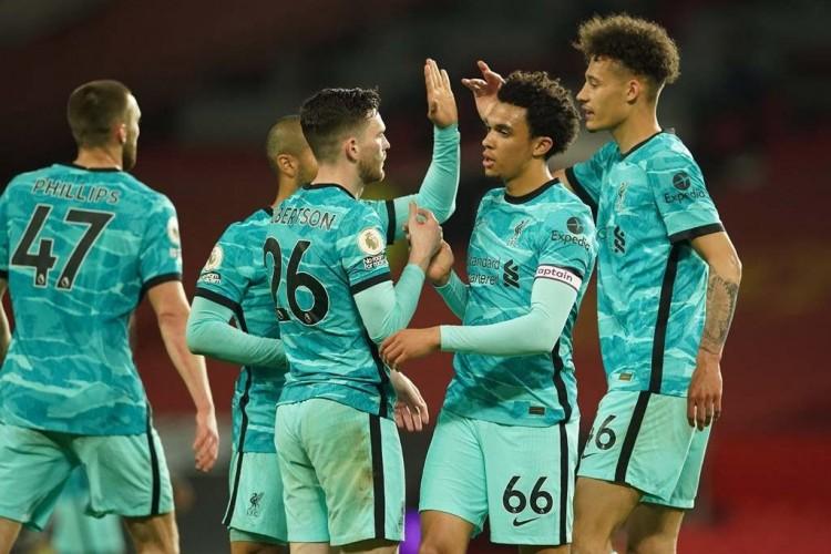 Liverpool Bantai MU 4-2 di Old Trafford