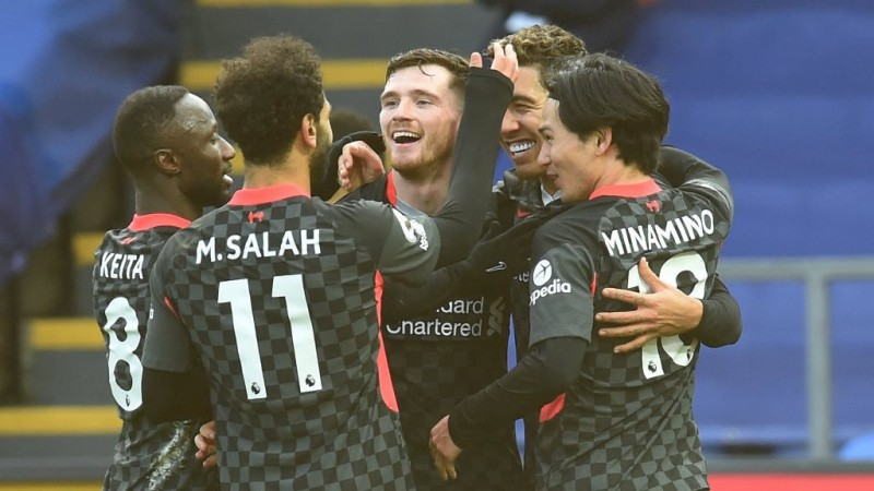 Liverpool Kokoh di Puncak Usai Bantai Palace 7-0