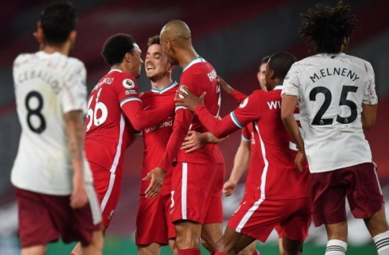 Liverpool Tumbangkan Arsenal, Ini Hasil Lengkap Pertandingan Semalam