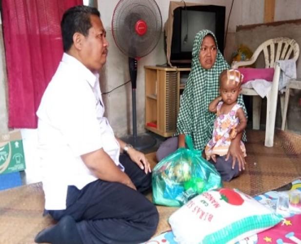 LKS Bina Sejahtera Bantu Keluarga Bocah Penderita Hidrosefalus