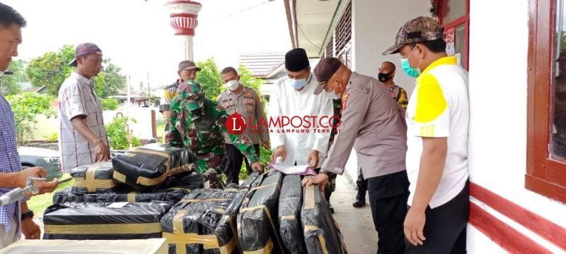 Logistik Pilkades Serentak di Sidomulyo Siap Didistribusikan