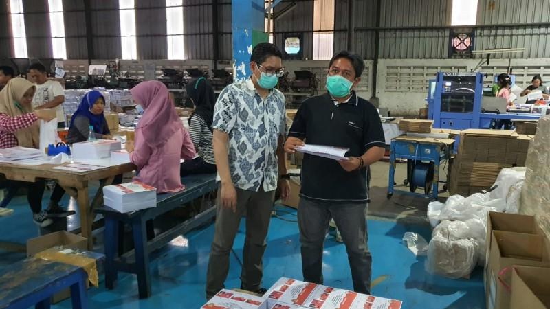 Logistik Surat Suara Pilkada Bandar Lampung Ditarget Tiba di Hari Minggu Besok
