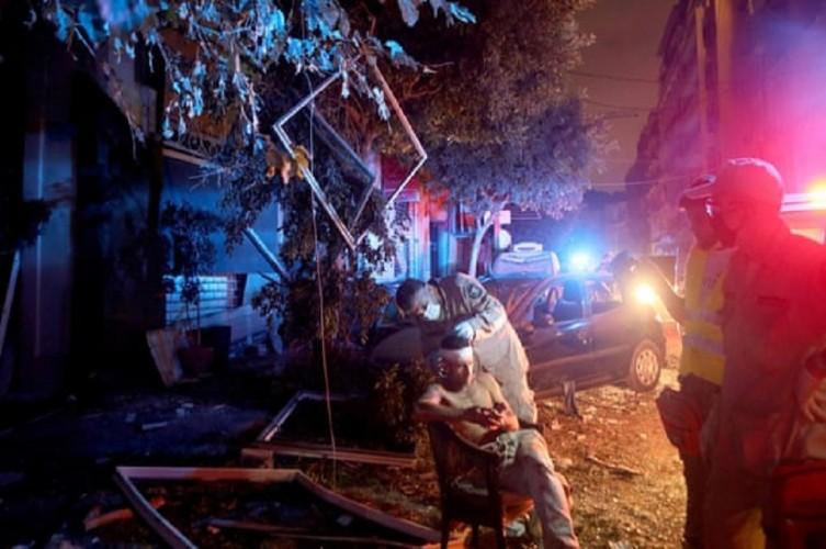 Lokasi Ledakan Berjarak 7 KM dari KBRI Beirut