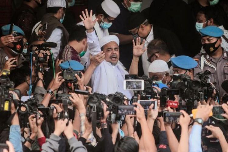 Lokasi 'Persembunyian' Rizieq Selama Terjerat Kasus Terungkap