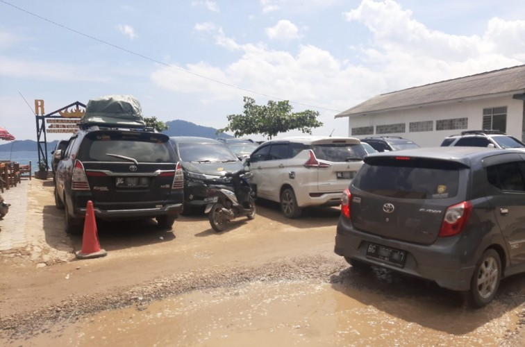 Lokasi Wisata di Lampung Didominasi Pengunjung Luar Daerah