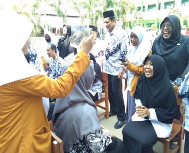 Lomba Guru Warnai Hari Guru di SMA Muhammadiyah 2 Bandar Lampung