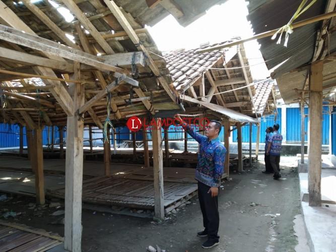 Los Pasar Nyaris Ambruk, Desa Bumidaya Akan Merelokasi Sejumlah Pedagang