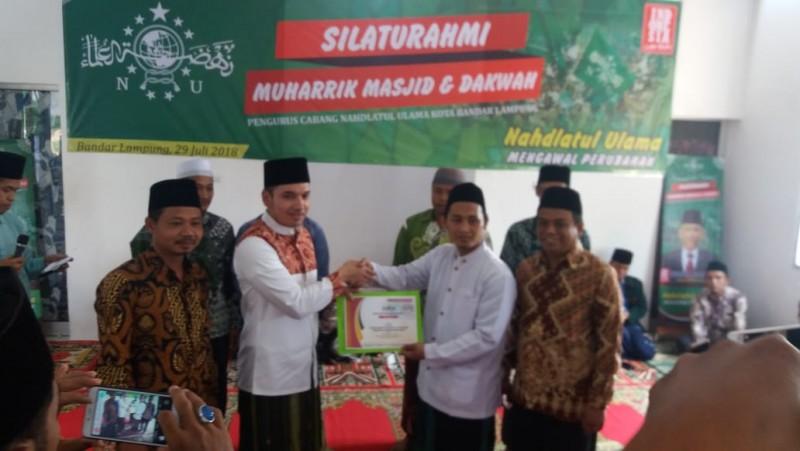 M Kadafi Bangga Jadi Panglima Santri Milenial Lampung 2018