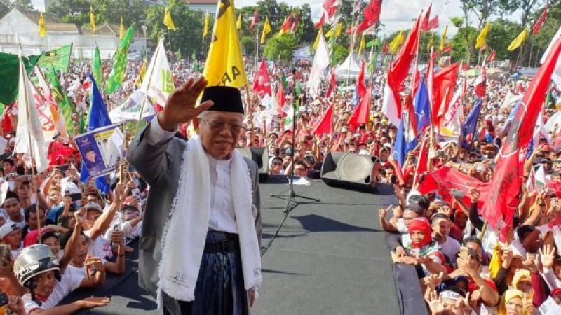 Ma'ruf Amin: Kampanye di NTB Berjalan Sukses