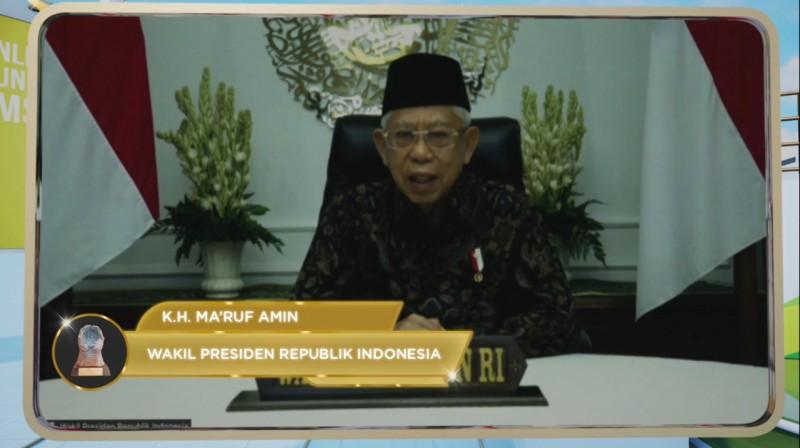Ma'ruf Amin: Pemerintah Prioritaskan Perlindungan Program Jamsostek untuk Non-ASN dan Pekerja Rentan Se-Indonesia