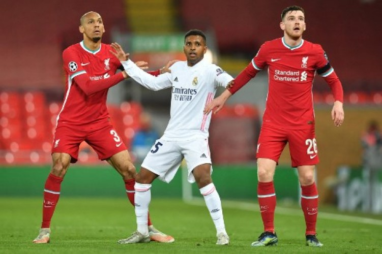 Madrid Singkirkan Liverpool di Perempat Final