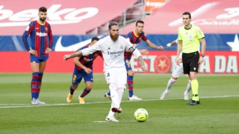 Madrid Tundukkan Barcelona di El Clasico Jilid I