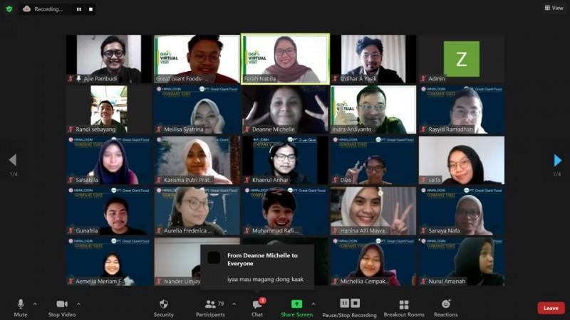 Mahasiswa IPB Adakan Virtual Visit dengan GGF
